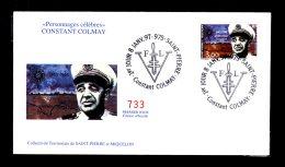 Premier Jour Personnages Célèbre Constant Commay 8 Janv 97 Lot 93 - FDC