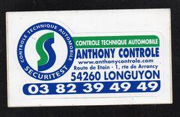 SECURITEST 54260 LONGUYON - Autocollant  - Ref: 856 - Stickers