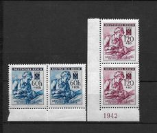 LOTE 1662  ///  BOHEMIA Y MORAVIA   YVERT Nº:  99/100 - Nuevos