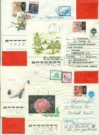 Kazakhstan. Four Envelope Passed The Mail.One Envelope Registered. - Kazakhstan