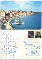 Malta 1960's Postcard Sliema - The Strand, To England, Scott 458 & 463 - Malta
