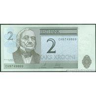 TWN - ESTONIA 85b - 2 Krooni 2007 Prefix CH UNC - Estonia