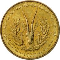 West African States, 5 Francs, 1972, TTB+, Aluminum-Nickel-Bronze, KM:2a - Ivory Coast