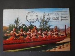 HAWAII 1969 HONOLULU M&G POST CARD MAORI M&G - Honolulu