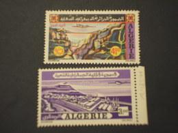 ALGERIA - P.A. VEDUTE/AEREO 2 VALORI - NUOVI(++) - Algeria (1962-...)