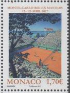 MONACO , 2017, MNH, TENNIS, MONTE CARLO ROLEX MASTERS, 1v - Tennis