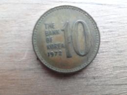 Koree Du Sud  10 Won  1972 Km 6 - Corée Du Sud