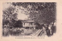 ENGHEIN-LES-BAINS- VUE DU LAC - Enghien Les Bains