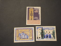 ALGERIA - 1967 ARTE 3 VALORI  - NUOVI(++) - Algeria (1962-...)