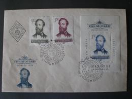 UNGHERIA MAYAR MAGYARORSZÁG 1954 Stamp Day - Philatelic Exhibition FDC M&G - Hongrie