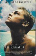 THAÏLANDE CINECARTE PHONECARD CARTE BANDE MAGNETIQUE THE BEACH  03/2001  MAJOR CINEPLEX - Thaïland
