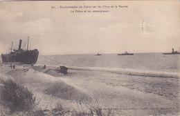 Vendée Saint Jean De Monts Renflouement Du Pobrea Sur Les Cotes De La Vendée Et Ses Remorqueurs éditeur Bailly N°301 - Saint Jean De Monts