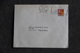 Lettre De PARIS Vers AULNAT ( N°1353 A) - Frankreich