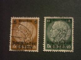 """ALLEMAGNE  ( O )  De  1939   """"  Administrations Publiques : OSTEN   """"     N°  1  Et  3 - Deutschland"""