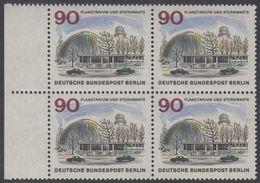 !a! BERLIN 1965 Mi. 263 MNH BLOCK W/ Left Margins -The New Berlin: Planetarium And Wilhelm-Foerster-Observatory - Berlin (West)