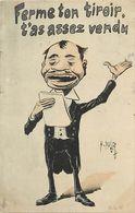 Themes Div - Ref W331- Illustrateurs - Illustrateur Humour - Le Camelot - Carte Bon Etat  - - Humor