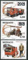Monaco - 2009 -Sapeurs Pompiers- N° 2658 à 2660   - Neuf ** - MNH - Monaco