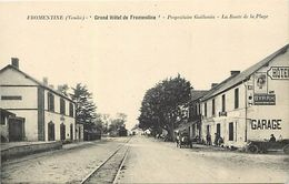 -ref-W664- Vendée - Fromentine - Grand Hotel De Fromentine - Guillemain Propr.-route De La Plage - Hotels - Voitures - - Frankreich