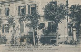 SALONIQUE - IMMEUBLES SUR LA RUE HAMIDIE CRIBLES PAR LE TIR DE L'ARTILLERIE GRECQUE PENDANT LA NUIT DU 17/30 JUIN 1913 - Turquia