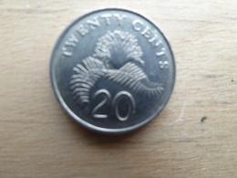 Singapour  20  Cents  1993  Km  101 - Singapour