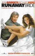 THAÏLANDE CINECARTE PHONECARD CARTE BANDE MAGNETIQUE RUNAWAY BRIDE  10/2000  MAJOR CINEPLEX - Thaïlande
