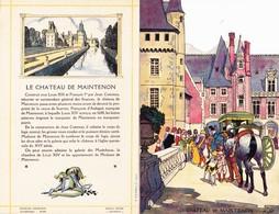 Menu Publicitaire Champagne Charles Heidsieck Reims Château De Maintenon Duels Des Mignons  (2 Scans) - Menus
