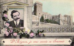 D'AVIGNON JE VOUS ENVOIE CE SOUVENIR - Avignon