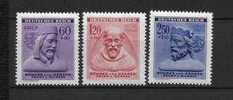 LOTE 1662  ///  BOHEMIA Y MORAVIA   YVERT Nº:  102/104 - Unused Stamps