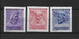 LOTE 1662  ///  BOHEMIA Y MORAVIA   YVERT Nº:  102/104 (102 CON DEFECTO) - Bohemia Y Moravia