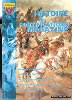 HISTOIRE FORTIFICATIONS MAGAZINE N°3 2001 LIGNE MAGINOT MUR ATLANTIQUE ARTILLERIE COTIERE LOURDE CASEMATE BUNKER - Magazines & Papers