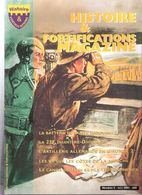 HISTOIRE FORTIFICATIONS MAGAZINE N°5 2001 LIGNE MAGINOT MUR ATLANTIQUE ARTILLERIE COTIERE LOURDE CASEMATE BUNKER - Magazines & Papers