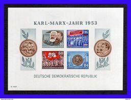 1953 - Alemania DDR - Sc 146a - S/D - MNH - AL-179 - 02 - [6] República Democrática
