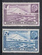 SAINT-PIERRE-ET-MIQUELON N°210 ET 211 N* - St.Pierre & Miquelon