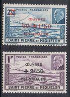 SAINT-PIERRE-ET-MIQUELON N°312 ET 313 N* - St.Pierre & Miquelon
