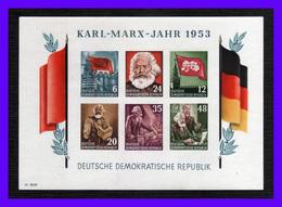 1953 - Alemania DDR - Sc. 144a - Imperforada - MNH - Lujo - AL-175 - 01 - [6] República Democrática