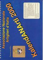 Associazione Nazionale Artiglieri D'Italia - KalendANArtI 2000 - - Calendari