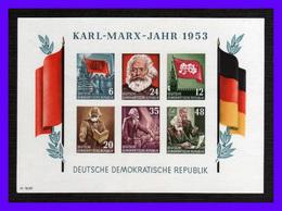 1953 - Alemania DDR - Sc. 144a - Imperforada - MNH - Lujo - AL-175 - 02 - [6] República Democrática