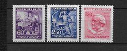 LOTE 1663  ///  BOHEMIA Y MORAVIA   YVERT Nº:  107/109 - Bohemia Y Moravia