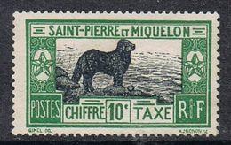 SAINT-PIERRE-ET-MIQUELON TAXE N°22 NSG - Postage Due