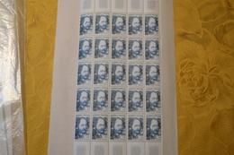 FRANCE  Yvert N° 1511 Personnage Célèbre   Neufs** En Bloc De 25 - Unused Stamps