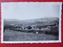 SAINT VALLIER DE THIEY CHASSEURS ALPINS MANOEUVRES 1937 PHOTO 9 X 6 - Lieux