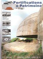 FORTIFICATIONS PATRIMOINE N°1 1997 MUR ATLANTIQUE LIGNE MAGINOT ARTILLERIE LOURDE COTIERE BUNKER CASEMATE BATTERIE - Magazines & Papers