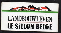 LE SILLON BELGE - Autocollant  - Ref: 860 - Stickers