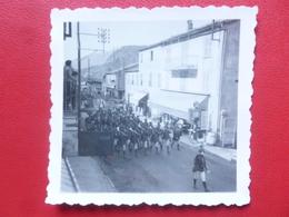 PLAN DU VAR ARRIVEE DES CHASSEURS ALPINS MANOEUVRES 1937 PHOTO 6 X 6 - Lieux