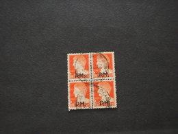 ITALIA - P.M. 1942 IMPERIALE 1,75 , In Quartina(block Of Four) - 4. 1944-45 Repubblica Sociale