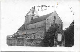 CPSM - MAUREGNY EN HAYE - L'EGLISE - Autres Communes