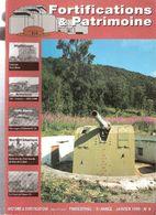 FORTIFICATIONS PATRIMOINE N°9 1999 MUR ATLANTIQUE LIGNE MAGINOT ARTILLERIE LOURDE COTIERE BUNKER CASEMATE BATTERIE - Magazines & Papers