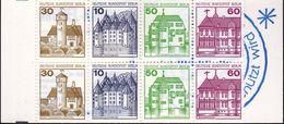 Berlin,1980, MH 12c **, Burgen Und Schlösser - Berlin (West)