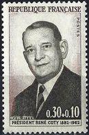 France 1964 - President René Coty ( Mi 1465 - YT 1412 ) MNH** - France