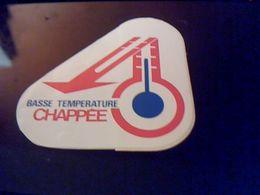 """Autocollant Ancien Publicite CHAPEE Theme Chaffage Central Chaudiere """" Basse Temperatue Chapée - Stickers"""